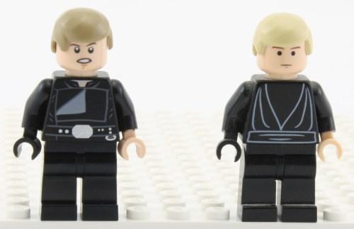 Jedi Luke - Comparison