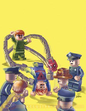 Mighty Avengers #1 - LEGO Variant