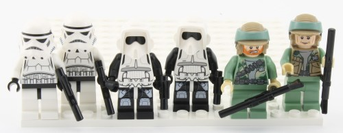 Minifigs - Soldiers