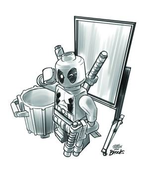 Secret Avengers #10 - LEGO Sketch Variant