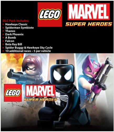 LEGO Marvel Super Heroes DLC