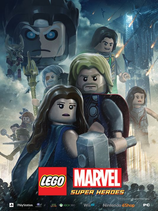 Lego Thor Poster