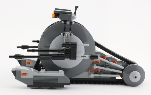 Tank Droid - Side
