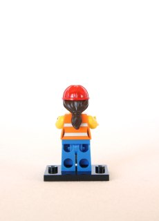 The LEGO Movie Minifigures - Gail the Construction Worker 2