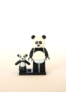 The LEGO Movie Minifigures - Panda Guy 1
