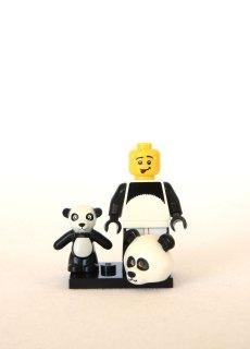The LEGO Movie Minifigures - Panda Guy 2