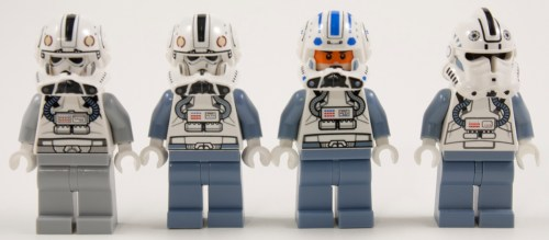 75039 Clone Pilot Comparison