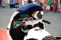 LEGO Batcycle 4