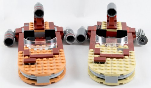 75052 - Landspeeder Last Two Versions