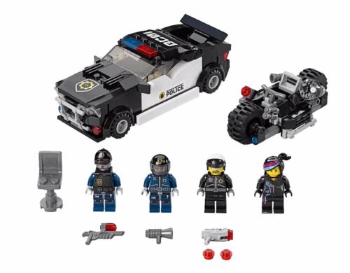 70819 Bad Cop Car Chase Set