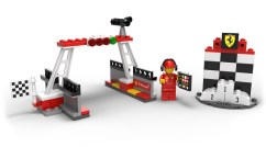 Finish Line Podium LEGO Minifigure