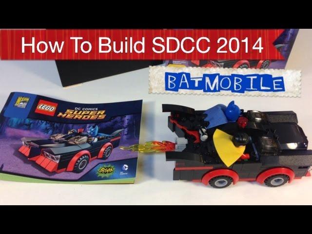 Neoape Posts Comic Con Batmobile Instructions Fbtb