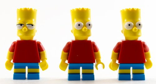 71016 Bart Simpson Comparison