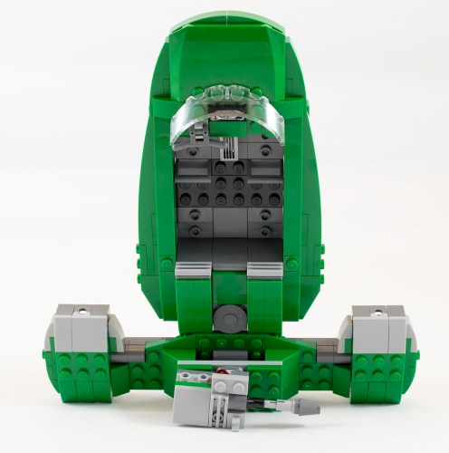 75091 Flash Speeder Interior and Top