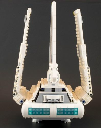 75094 Imperial Shuttle Rear