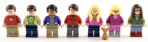 21302 - Minifigs and a Dog