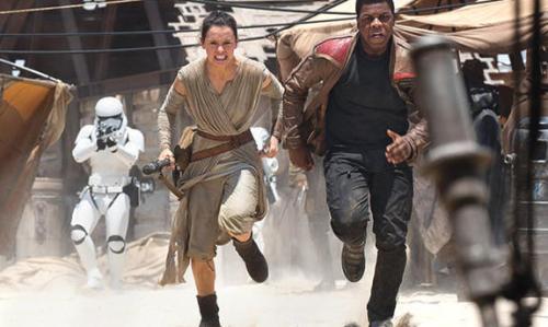 Finn and Rey