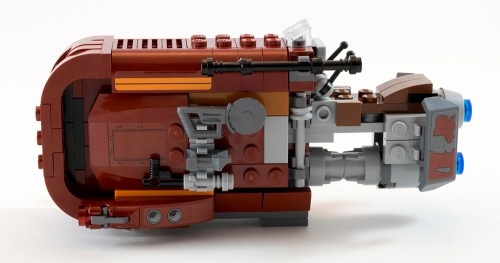 75099 Rey's Speeder Left Side