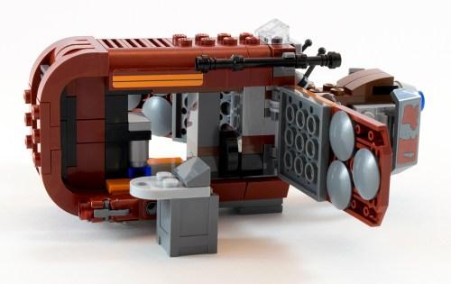 75099 Rey's Speeder Opened