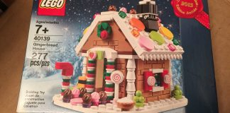 40139 Gingerbread House - 1