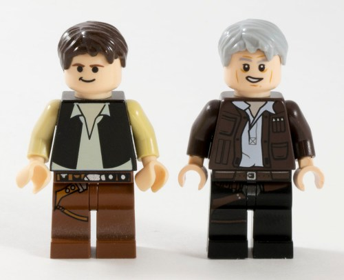 75105 Han Solo Comparison