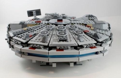 75105 Millennium Falcon Back