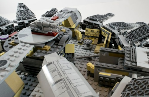 75105 Millennium Falcon Interior Lounge