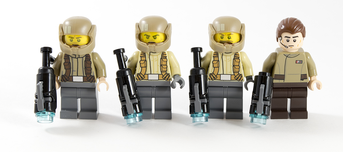 NEW ~ LEGO ~ Star Wars ~ Resistance Officer ~ Minifigure ~ 75131 ~ Force Awakens