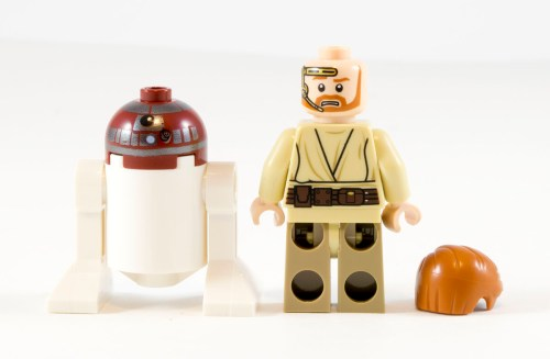 75135 Obi-Wan's Jedi Interceptor Minifigs Backs