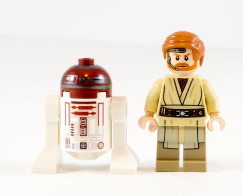 75135 Obi-Wan's Jedi Interceptor Minifigs