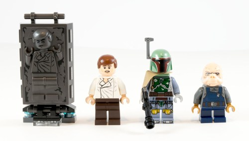 75137 Carbon-Freezing Chamber Minifigs