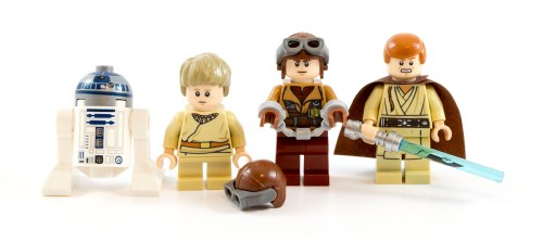 75092 Minifigures - Characters