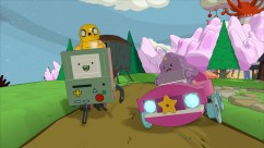 Adventure Time_Jake, LSP, BMO, Lumpy Car