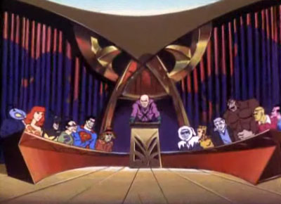 Meanwhile... at the Legion of Doom!