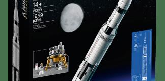 21309 LEGO NASA Apollo Saturn V box image