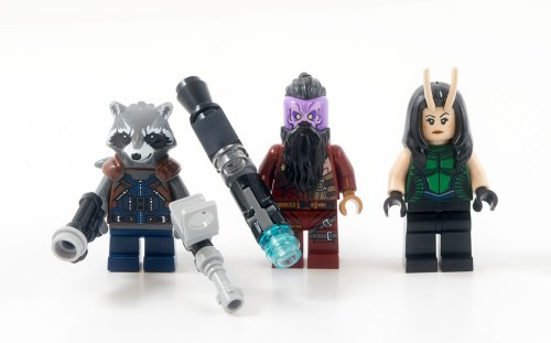 76079 Ravager Attack - Minifigures
