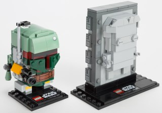 LEGO Star Wars Boba Fett Han Solo in Carbonite Block BrickHeadz