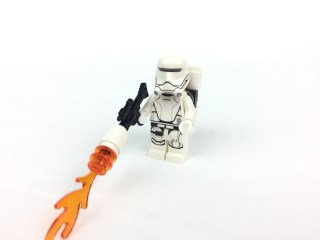 First Order Flametrooper minifig front