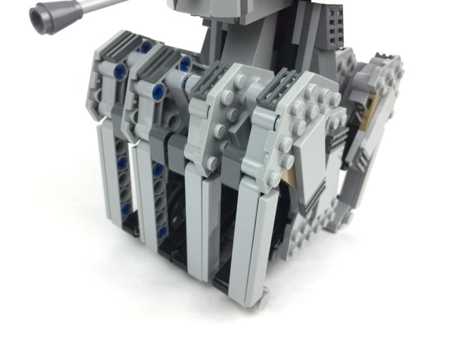 First Order Heavy Scout Walker legs detailed shot