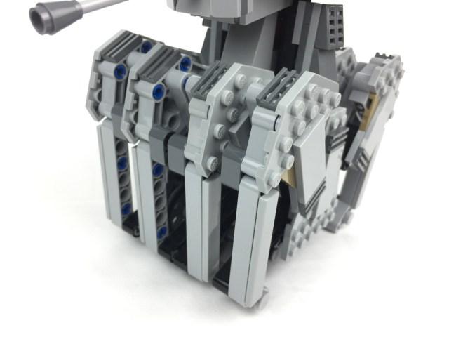 First Order Heavy Scout Walker legs detailed shot