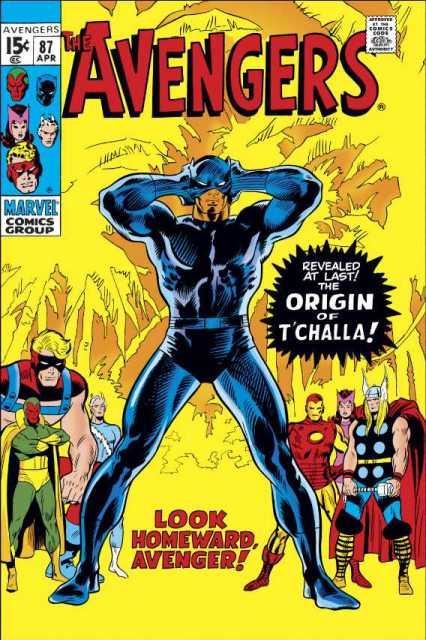 Original Avengers 87 comic book cover