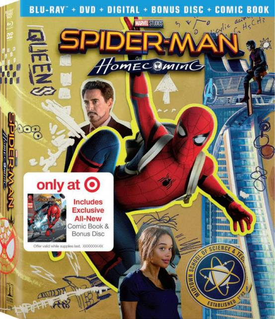 Bring Home Spider-Man: Homecoming Today - FBTB