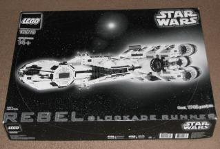10019 Rebel Blockade Runner black and white box