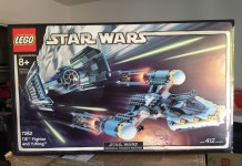 7262 TIE Fighter and Y-Wing
