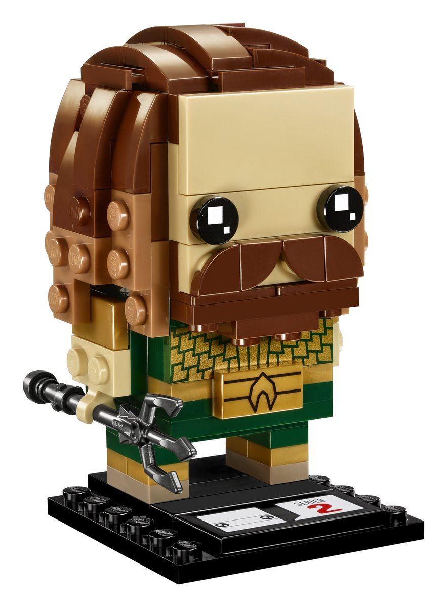 Justice League Aquaman BrickHeadz