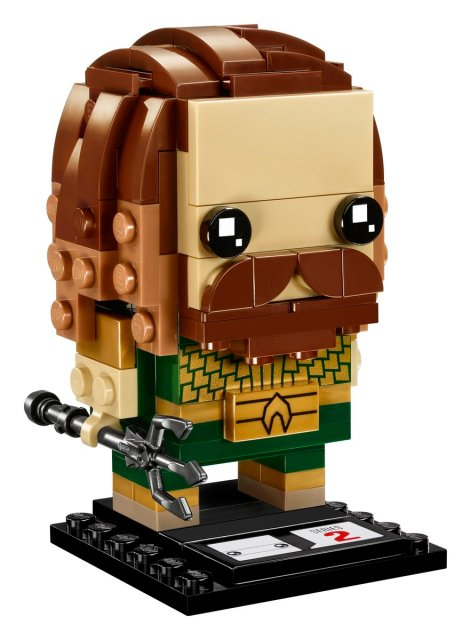 Justice League BrickHeadz - Aquaman