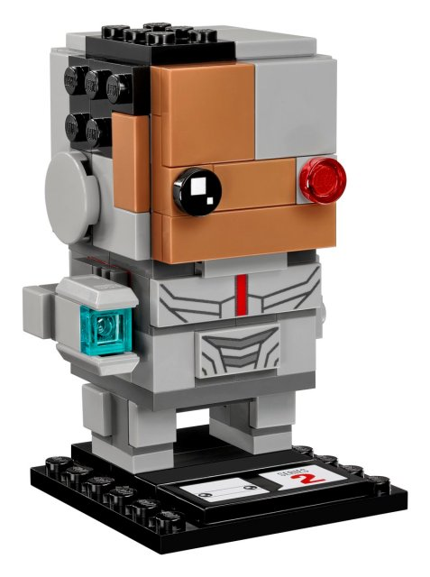 Justice League BrickHeadz - Cyborg