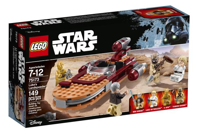 75173 Luke's Landspeeder box