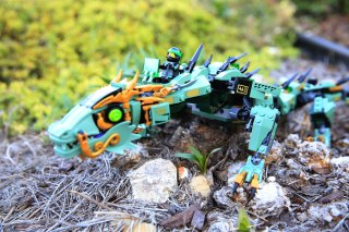 Review 70612 Green Ninja Mech Dragon
