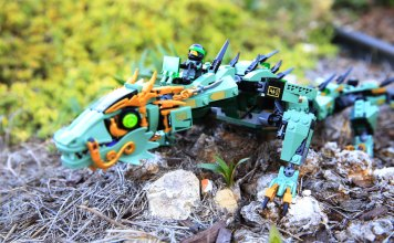 Review 70612 Green Ninja Mech Dragon